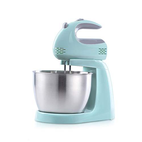 Standmixer, Krachtige Elektrische Mixer/Keukenrobot, 2-in-1 Klopper/Garde/Deeghaak/Klopper -3 Liter, Voor Thuisgebruik