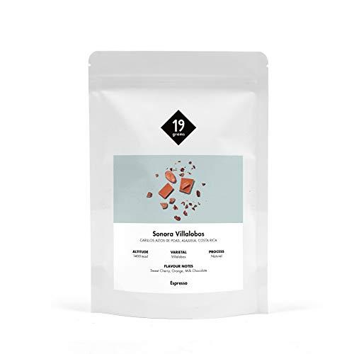 19grams Kaffeerösterei | 250g | Costa Rica | Villalobos 'Hacienda Sonora' Espresso | 250g x ganze Bohnen | frisch geröstet | 100% Arabica Kaffeebohnen | specialty coffee