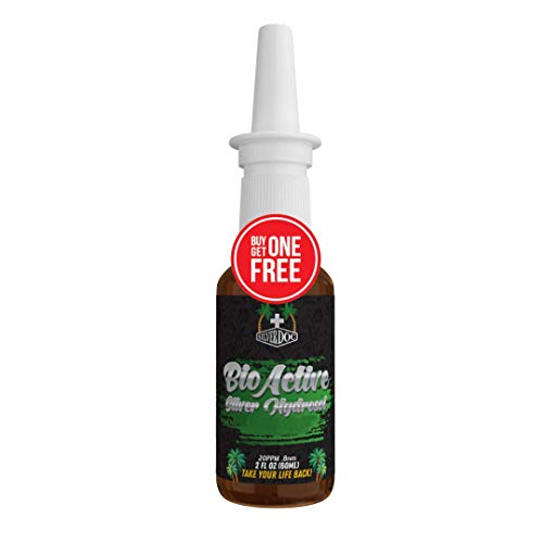 Silver Doc Silver Hydrosol Nasal Cleansing Spray, Better Than Any Colloidal, Silver Doc for Congestion, Nasal & Sinus Issues