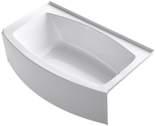 KOHLER K-1118-RA-0 Expanse Bathtub, White