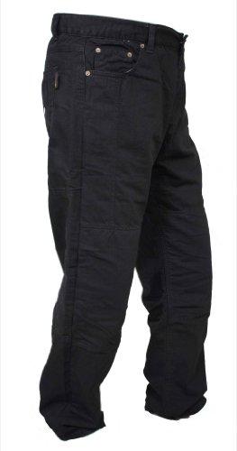newfacelook Schwarze Motorradhose Rüstungen Motorrad Hose Jeans Kommt mit Aramid verstärkt Schutzauskleidung