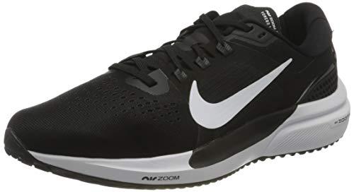 Nike Air Zoom Vomero 15, Zapatillas para Correr Hombre, Black White Anthracite Volt, 42.5 EU