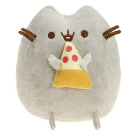 CLINGE Stuffed Animal Animal Cat Angel Cookie Pizza Sushi Angel Potato Chips Doughnut Stuffed & Plush Pussy Toys for Christmas-Pizza-15Cm