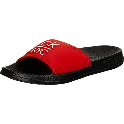 Calvin Klein Underwear Slide W - Chanclas de playa Rojo Size: 40...
