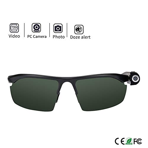 Smart zonnebril Camera Eyewear Full HD 720P videorecorder Wearable Glasses Portable Veiligheid bewakingscamera Meeting Travel Fietsen