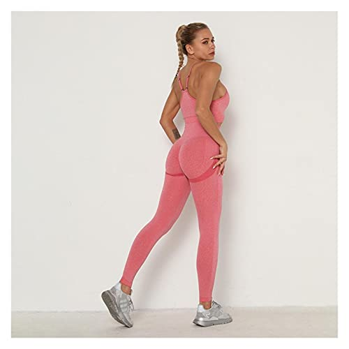 Mallas De Deporte De MujerPantalones Deportivos Pantalones de yoga sin fisuras Push Up Leggings Mujeres Gimnasio Deporte Fitness Yoga High Cintura Legging Squat Deportes Entrenamiento Leggins Pantalon