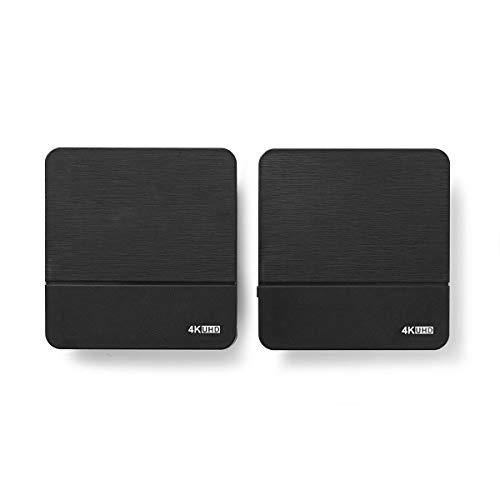 NEDIS Transmetteur sans Fil HDMI Transmetteur sans Fil HDMI | Wi-FI | 60 GHz | 10.0 m (Ligne de Mire) | Résolution maximale: 4K@30Hz | 9.9 Gbps | Fonction de Retour IR | ABS | Noir Noir 1.50 m