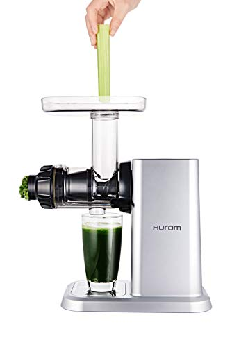 Hurom Celery and Greens Slow Juicer, Silver
