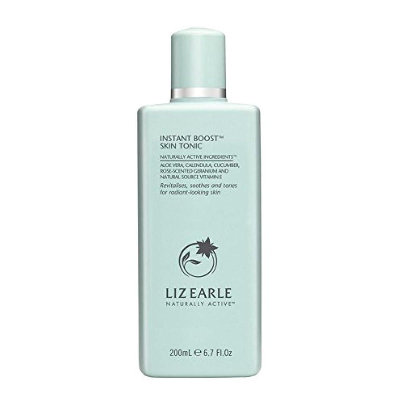 ラバページェント進行中リズアールインスタントブーストスキントニックボトル200ミリリットル x4 - Liz Earle Instant Boost Skin Tonic Bottle 200ml (Pack of 4) [並行輸入品]