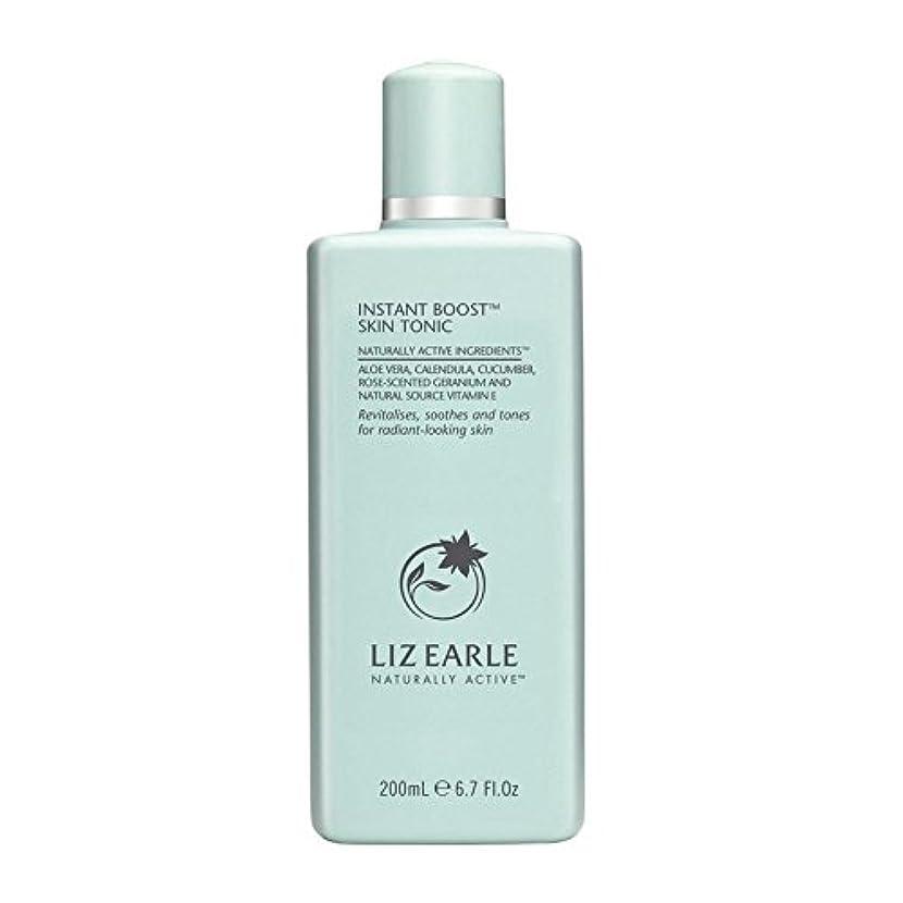 責める木人形Liz Earle Instant Boost Skin Tonic Bottle 200ml - リズアールインスタントブーストスキントニックボトル200ミリリットル [並行輸入品]