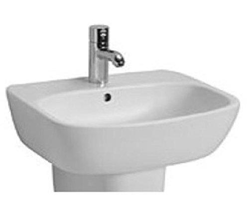 Ceravid Cavea Waschbecken Breite 50cm weiß Alpin, ohne Armatur, C48050000