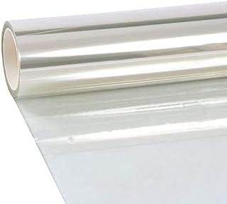 厚さ0.1mm 透明 防災 ガラスフィルム 窓 透明 飛散防止フィルム 窓ガラス 強飛散防止 防災フィルム UVカット 紫外線カット 地震 竜巻対策 住宅 建築ガラスフィルム,45cm X 200cm