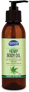 Redwin Hemp Body Oil, 125 milliliters