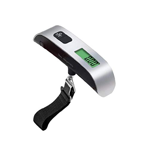 Digital Hanging Luggage Scale LCD Display Backlight Hanging Hook Scale Weight Scale 1PC