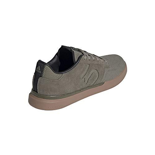 Five Ten Adidas Men's Sleuth Mountain Bike Shoe, Legacy Green/Legacy Green/Gum - 11.5