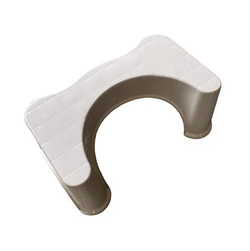 ASPIRE UK Toilettenhocker, 22,9 cm, rutschfest, lindert Verstopfung, Blähungen, richtet den Dickdarm aus für schnellere, einfachere Erleichterung