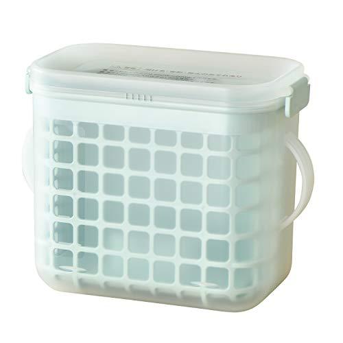 レック(LEC) 3WAY 哺乳びん 消毒ケース (電子レンジ・薬液消毒OK) 特許出願中 手で触らずカゴごと乾燥 0か月~ プラスチック製 A00146