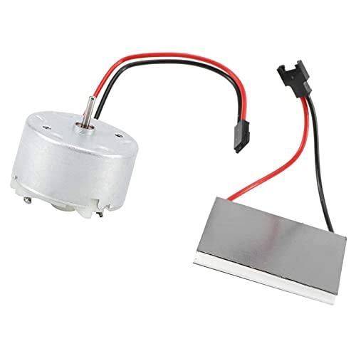popchilli Motor Ventilador Chimenea, Hoja Generador Ventilador Chimenea Accesorios Motor Eléctrico Ventilador Chimenea con Energía Térmica