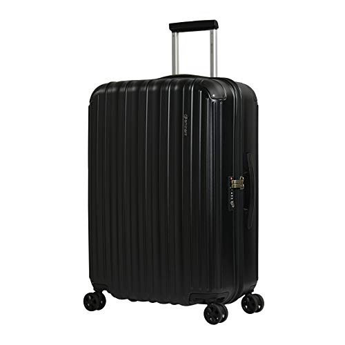 Eminent Suitcase Move Air NEO 69 cm 85 L Lightweight Extra Corner Protection Anti-Scratch Hardshell Black