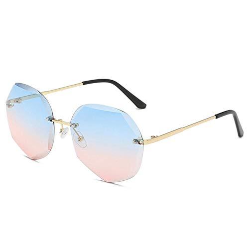 XCVB Ocean-laken voor dames UV-bescherming Brillen ZonnebrilCool Polygon Shaped Hexagon Fashion, 8