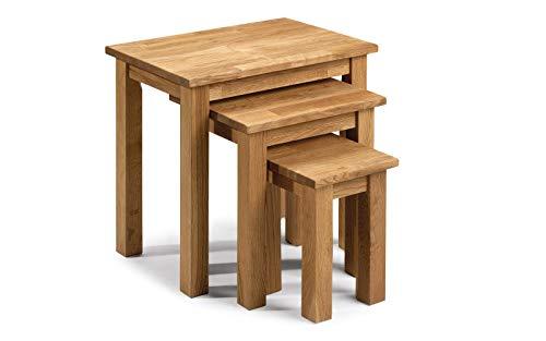Julian Bowen Coxmoor Tisch-Set Eiche