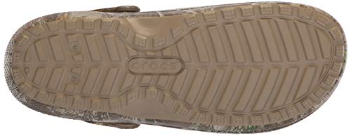 Crocs Unisex-Adult Men's and Women's Classic Realtree Edge Lined Clog | Camo Fuzzy Slippers