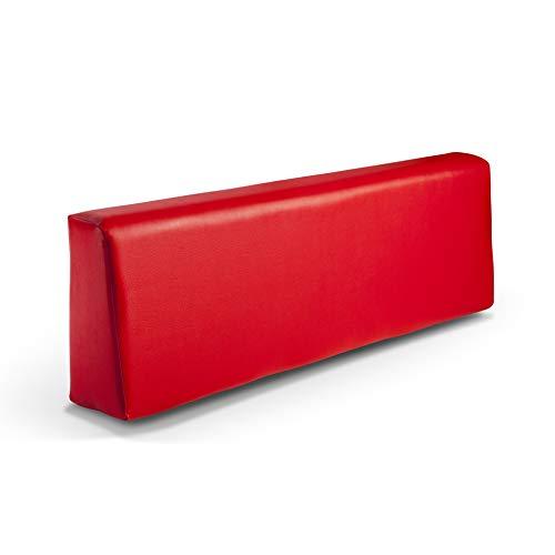 SUENOSZZZ-ESPECIALISTAS DEL DESCANSO Respaldo colchoneta para Sofas de Palet Color Rojo (1...