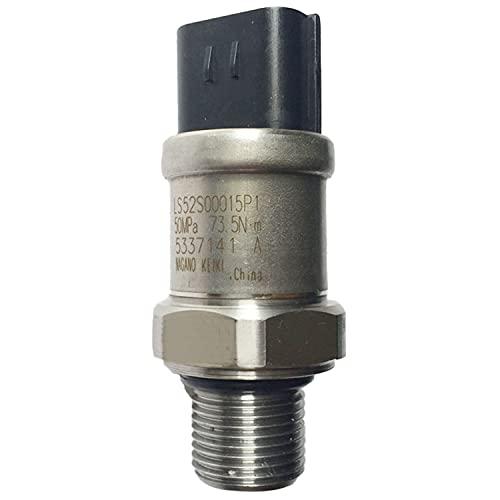 Weelparz 50Mpa Sensor de Presión YN52S00048P1 Compatible con Kobelc o Excavadora ED150-2 SK200-6 SK210D-8 SK260-9 SK295-9 SK70SR-1E SK70SR-1ES SK115SR SK135SR SK330 SK330LC SK115SR-1E