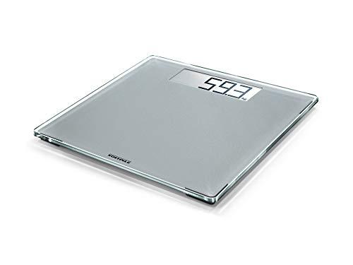 Soehnle Style Sense Comfort 400 Bascula de bano digital, color plata