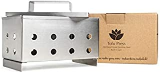 Collingwood Ecoware Tofu Press / Tofu Mold - FDA Approved Stainless Steel Design - Remove Water from Tofu OR Make Your Own Tofu