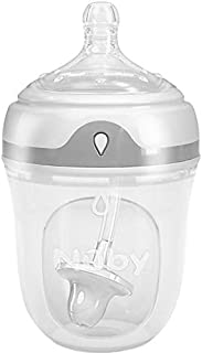 Nuby Comfort 360 Silicone bottle, 5 Ounce