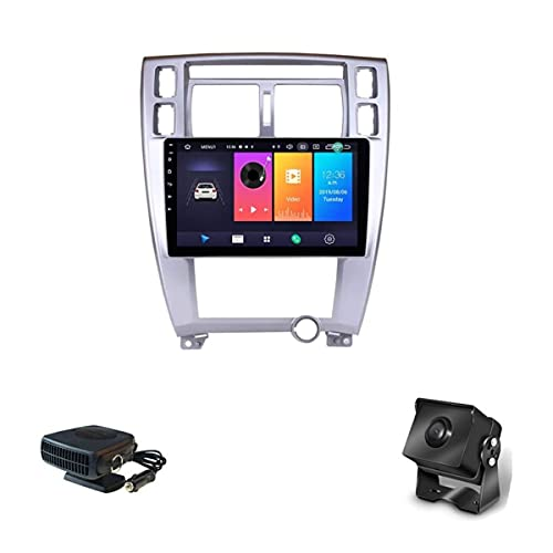 para Hyundai Tucson 2009~2014 Android 9 Unidad Principal Estéreo De Radio De Coche Se Adapta A Radio 9 Pulgadas HD Pantalla Táctil Navegación GPS con Bluetooth Control del Volante (4G+WiFi: 2+32G)