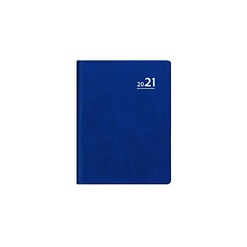 Taschenkalender 1w1s 72x105mm ZET 650 96s Plastikeinband sort