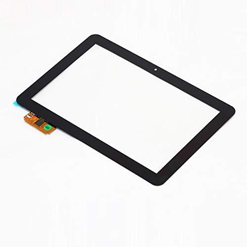 Monitor de Pantalla Plana 10.1'Pulgada/Ajuste for BQ/FIT for Edison 2 3 Tableta Quad Core Tablet Pantalla táctil Digitalizador Panel táctil Sensor de Vidrio FPDC-0085A (Color : Black)