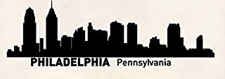 Philadelphia Pennsylvania City Silhouette Skyline Rubber Stamps Business Logo Stamps Wedding Stamp Logo Stamp Invitation or Save The Date Rubber Cling Stamp