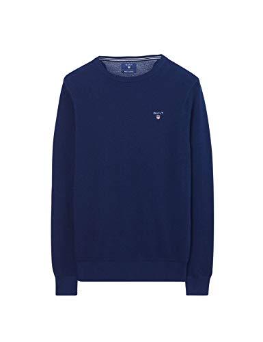 Gant Herren Pullover Größe XXL Blau (blau)