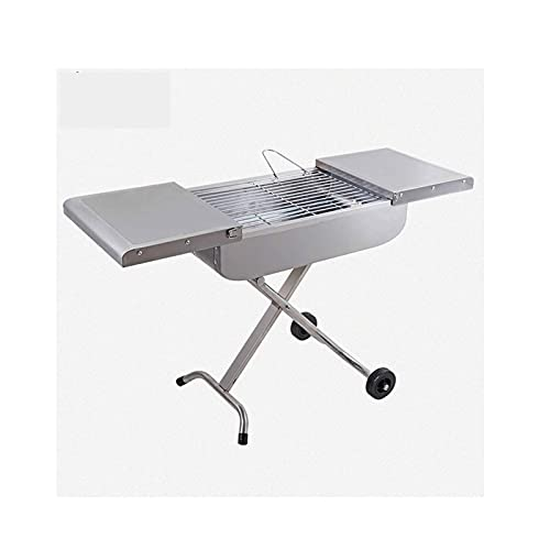 FEANG Grill Portable BBQ Grill Outdoor Home BBQ Herd Klappkohle BBQ für Outdoor Camping Ofen Edelstahl Verdickung Grill Grill Grillwerkzeug