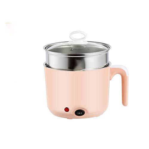 Eierkoker Stroper Elektrisch fornuis met steamerbevestiging voor perfecte zacht- en hardgekookte eieren Eierkoker Elektrisch Multifunctioneel Automatisch uitschakelen Oververhittingsbeveiliging 220V,Pink