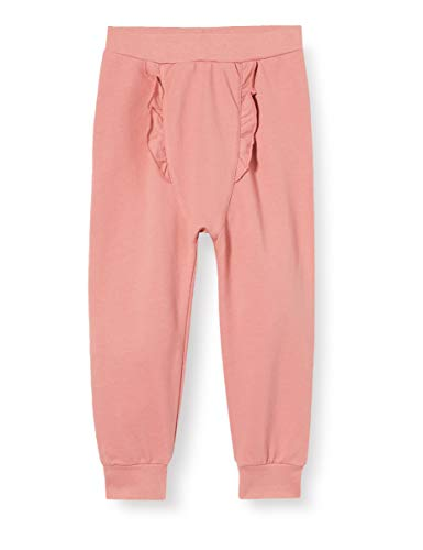 Fixoni Baby-Mädchen Pants - Girls Hose, Dusty Rose, 86