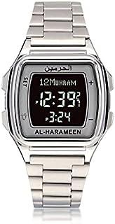 WIDZ - Digital Watches - Muslim Watch For Prayer with Azan Qibla Compass and Hijri Al Harameen Fajr Time Wristwatch Kids G...