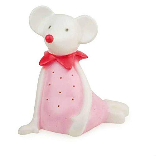 TWIGGY-Lampe zum Aufstellen / Nachtlicht, LED, Maus, Höhe 28 cm, weiß, rosa, Egmont Toys – Design von Gaëtane Lannoy