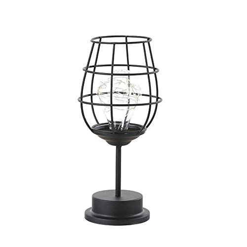 Lámpara de mesa creativo vacaciones retro de hierro arte minimalista hueco lámparas de mesa lámpara de lectura luz nocturna dormitorio escritorio iluminación decoración del hogar