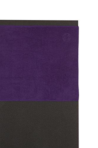 Manduka eQua Yoga Mat Towel, Absorbent, Quick Drying, Non-Slip for Yoga, Gym, Pilates, Outdoor Fitness, Magic, 72'