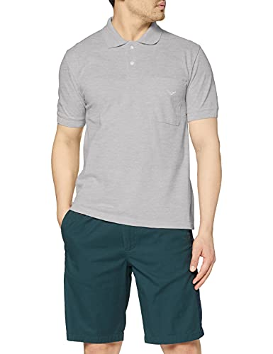 Trigema Herren 627602 Poloshirt, Grau (Grau-Melange 110), (Herstellergröße: XX-Large)