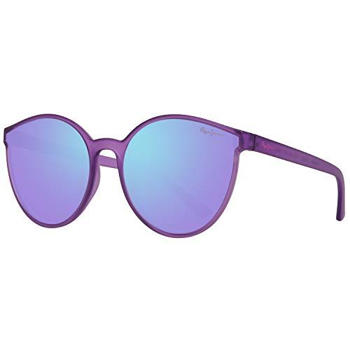 Pepe Jeans PJ7272C460 Sonnenbrille PJ7272 C4 ANNABELLE Schmetterling Sonnenbrille 60, Violett
