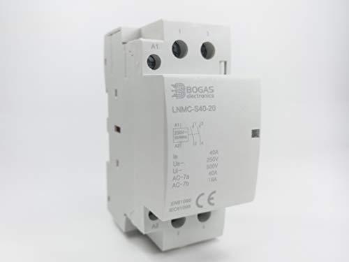 Modularstecker 2NO DIN-Schiene Haus AC 220/230V (40A)
