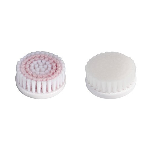 Vidabelle Cabezales de Cepillo de Reemplazo para Cepillo Limpiador Facial Giratorio VD-5483 – Paquete de 2 Unidades