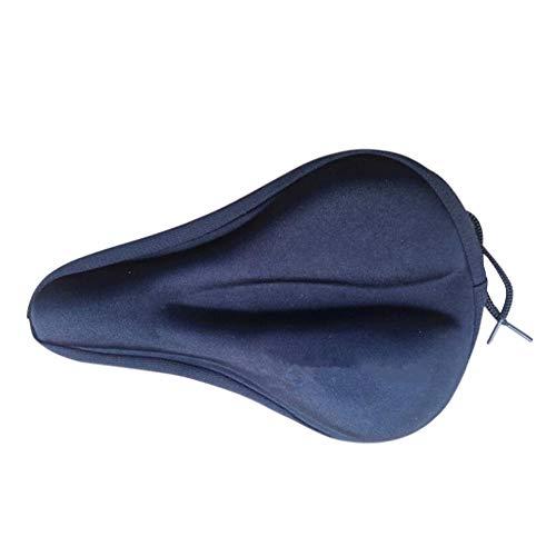 Eillybird Smalle zadelhoes gelzadelhoes met veiligheidsband (11 inch x 7 inch), comfortabele gelzadelhoes, mountainbike, racefiets, fietszadelhoes voor heren en dames, zacht fietszadel