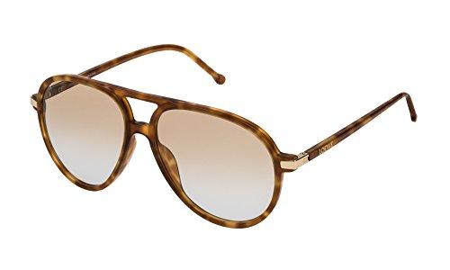 Loewe SLW972M5606PL Gafas de sol, Shiny Light Havana, 56