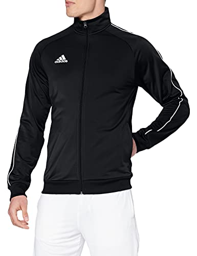 Adidas Core18 PES, Giacca Uomo, Nero/Bianco, XL